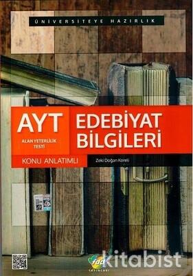 Fdd Yayınları - AYT Edebiyat Bilgileri Konu Anlatımlı