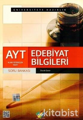 Fdd Yayınları - AYT Edebiyat Bilgileri Soru Bankası