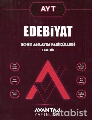 Avantaj Yayınları - AYT Edebiyat Konu Fasikülleri