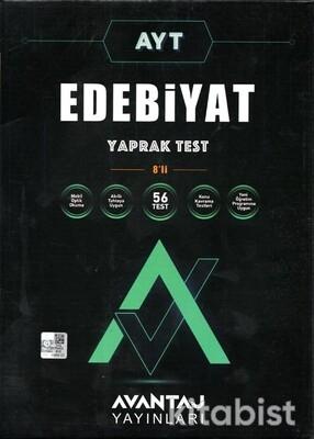 Avantaj Yayınları - AYT Edebiyat Konu Kazanım Yaprak Test (8 Öğrencilik)