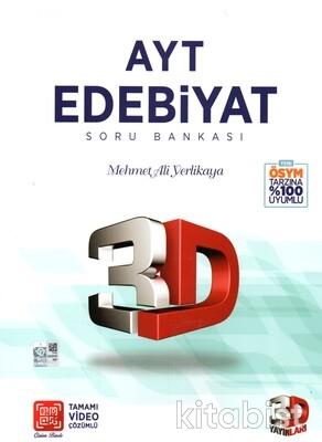 3D Yayınları - AYT Edebiyat Soru Bankası