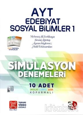 3D Yayınları - AYT Edebiyat/Sosyal Bilimler-1 10'lu Deneme Sınavı