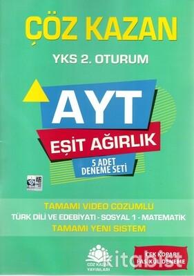 Çöz Kazan Yayınları - AYT Eşit Ağırlık 5'li Deneme Sınavı