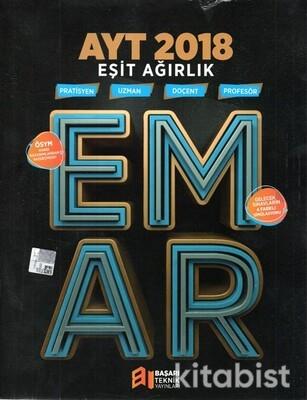 Başarı Teknik Yayınları - AYT Eşit Ağırlık EMAR 2018 Çıkmış Sorular ve Soru Bankası