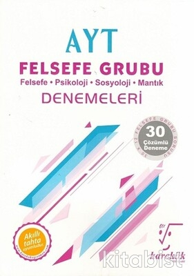 Karekök Yayınları - AYT Felsefe Grubu 30'lu Deneme Sınavı