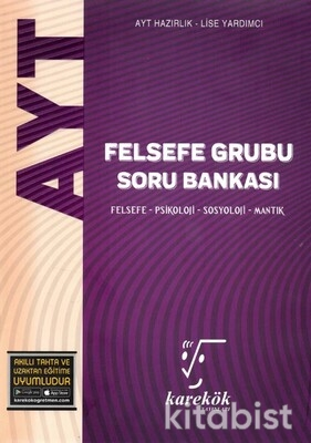 Karekök Yayınları - AYT Felsefe Grubu Soru Bankası