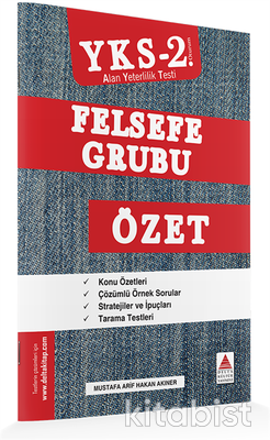 Delta Yayınları - AYT Felsefe Özet