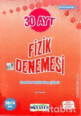 Okyanus Yayınları - AYT Fizik 30'lu Deneme Sınavı