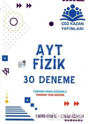 Çöz Kazan Yayınları - AYT Fizik 30'lu Deneme Sınavı