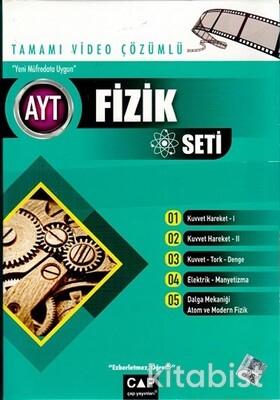 Çap Yayınları - AYT Fizik Seti