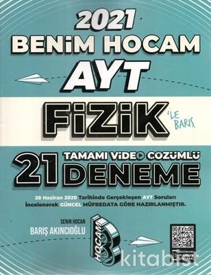 Benim Hocam Yayınları - AYT Fizik Tamamı Video Çözümlü 21 Deneme - 2021