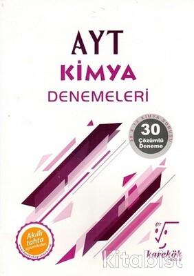 Karekök Yayınları - AYT Kimya 30'lu Deneme Sınavı