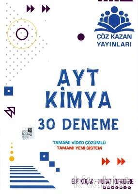 Çöz Kazan Yayınları - AYT Kimya 30'lu Deneme Sınavı