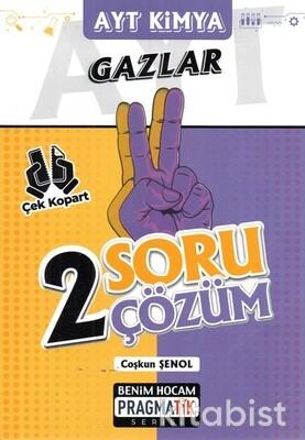Benim Hocam Yayınları - AYT Kimya Gazlar 2 Soru 2 Çözüm Pragmatik Serisi - 2021