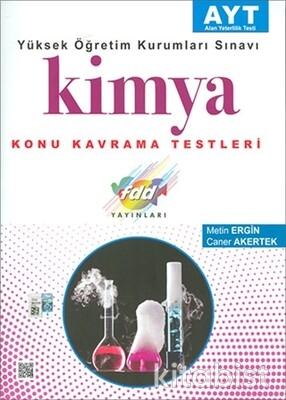 Fdd Yayınları - AYT Kimya Konu Kavrama Testleri