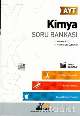 Hız ve Renk Yayınları - AYT Kimya Soru Bankası