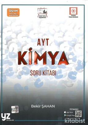 Yz Yayınları - AYT Kimya Soru Kitabı
