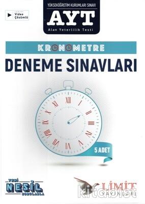 Limit Yayınları - AYT Kronometre 5'li Deneme Sınavı (Kutulu Set)