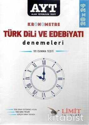 Limit Yayınları - AYT Kronometre Türk Dili ve Edebiyatı 20x20 Deneme Sınavı