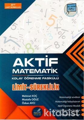 Aktif Öğrenme Yayınları - AYT Limit ve Süreklilik - Kolay Öğrenme Fasikülü