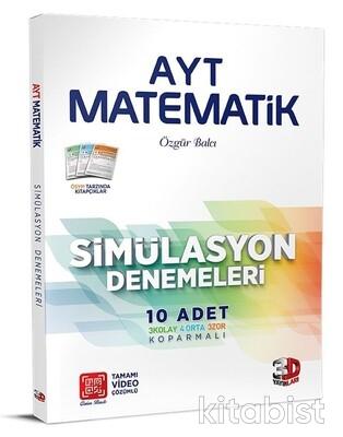 3D Yayınları - AYT Matematik 10'lu Deneme Sınavı