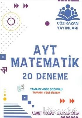 Çöz Kazan Yayınları - AYT Matematik 20'li Deneme Sınavı