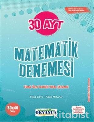 Okyanus Yayınları - AYT Matematik 30'lu Deneme Sınavı