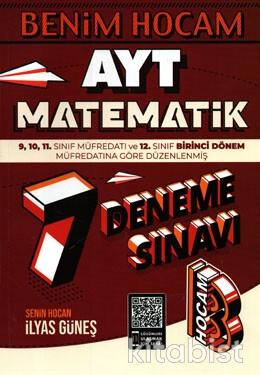 Benim Hocam Yayınları - AYT Matematik 7'li Deneme Sınavı