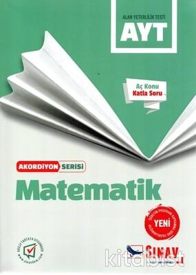 Sınav Yayınları - AYT Matematik Akordiyon Serisi