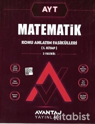 Avantaj Yayınları - AYT Matematik Konu Anlatım Fasikülleri - 1.Kitap