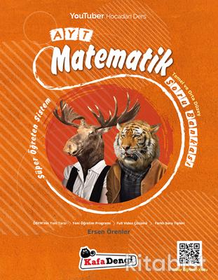 Kafadengi Yayınları - AYT Matematik Soru Bankası - Temel ve Orta Düzey