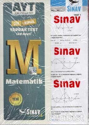 Sınav Yayınları - AYT Matematik Yaprak Test