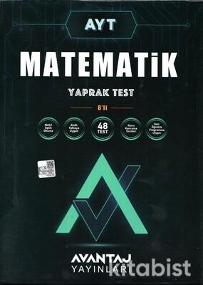 Avantaj Yayınları - AYT Matematik Konu Kazanım Yaprak Test (8 Öğrencilik)