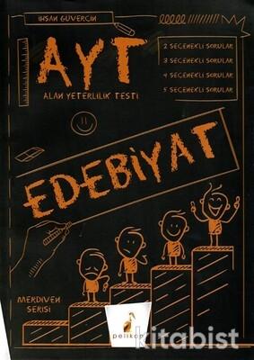 Pelikan Yayınları - AYT Merdiven Serisi Edebiyat Soru Bankası