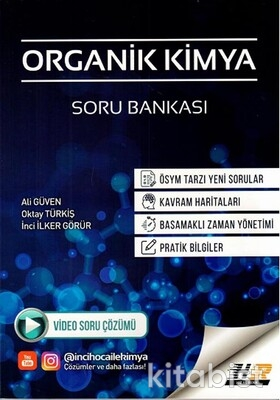 Hız ve Renk Yayınları - AYT Organik Kimya Soru Bankası