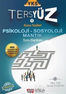 Nitelik Yayınları - AYT Psikoloji/Sosyoloji/Mantık Tersyüz Soru Bankası