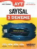 Miray Yayınları - AYT Sayısal 3 Deneme Matematik - Fen Bilimleri