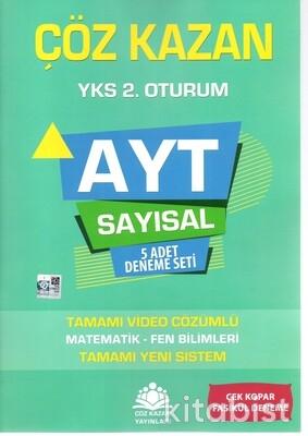 Çöz Kazan Yayınları - AYT Sayısal 5'li Deneme Sınavı