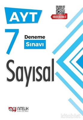 Nitelik Yayınları - AYT Sayısal Video Çözümlü 7'li Deneme Sınavı