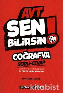 Benim Hocam Yayınları - AYT Sen Bilirsin! Coğrafya Soru/Cevap