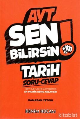 Benim Hocam Yayınları - AYT Sen Bilirsin Tarih Soru-Cevap