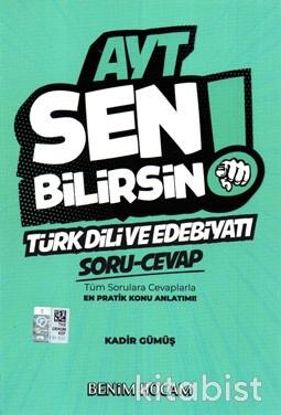 Benim Hocam Yayınları - AYT Sen Bilirsin! Türk Dili ve Edebiyatı Soru/Cevap