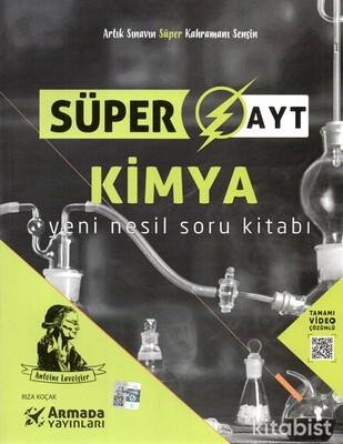 Armada Yayınları - AYT Süper Kimya Yeni Nesil Soru Kitabı