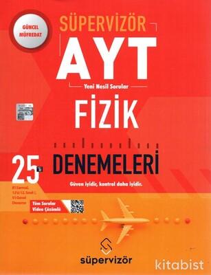 Süpervizör Yayınları - AYT Süpervizör Fizik 25 Li Deneme