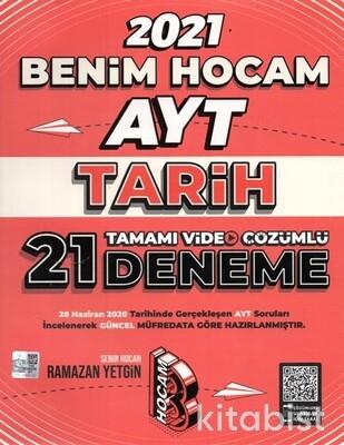 Benim Hocam Yayınları - AYT Tarih 21'li Deneme Sınavı-2021