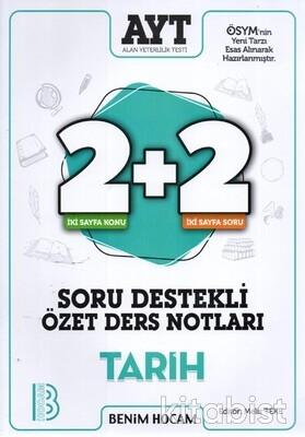 Benim Hocam Yayınları - AYT Tarih 2+2 Soru Destekli Özet Ders Notları - 20