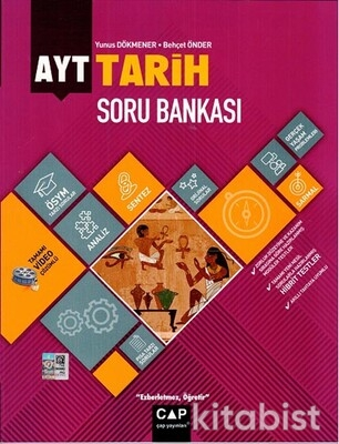 Çap Yayınları - AYT Tarih Soru Bankası