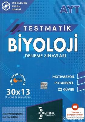 Bilinçsel Yayınları - AYT Testmatik Biyoloji 30x13 Deneme Sınavı
