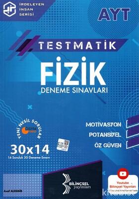 Bilinçsel Yayınları - AYT Testmatik Fizik 30x14 Deneme Sınavı