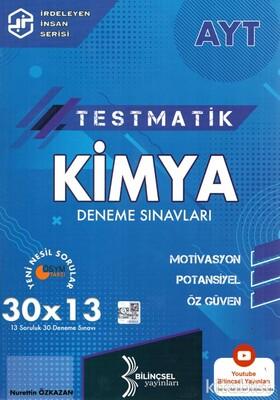 Bilinçsel Yayınları - AYT Testmatik Kimya 30x13 Deneme Sınavı